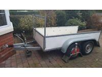 Trailer 8ft x 4ft Twin Axle BRAKED