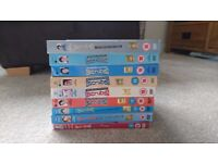 All series of Scrubs dvds 1-9