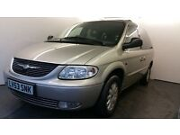 2003   Chrysler Voyager 2.5 CRD LX 5dr   1 Year MOT   Service History   Air con   Cruise Control