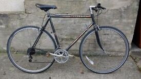 Peugeot Esprit bike with straight bars hybrid bicycle
