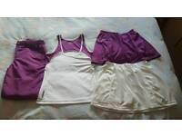 Ladies size 10 tennis clothes