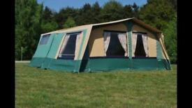 HUGE 25m2 Trailer Tent