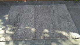 Noelia Shaggy rug 120cm x 170cm in good used condition! Can deliver or post! Thank you