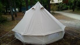 3m Bell tent rent - perfect for festivals - just £120 for long weekend
