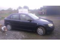 Vauxhall Astra 2000 1.4 petrol for sale