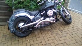 1 off custom Yamaha xvs