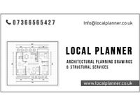 Architectural Services/Planning Permission/Planning Drawings/Interior Design/Structural Services