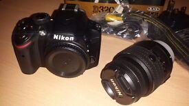 New OPEN BOX Nikon D3200 18-55 VR II Kit f/3.5-5.6G VR II