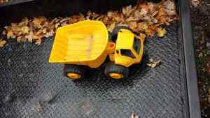 Little Tikes toys,  dump truck ...and ...backhoe