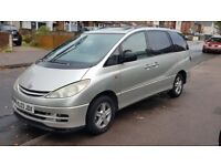 TOYOTA PREVIA CDX 2.0 DIESEL D4D 7 SRATER MPV FULLY LOADED STARTS AND GREAT CHEAPEST IN COUNTRY