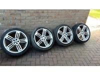 Audi Vw rs6 alloys 18s 5x100