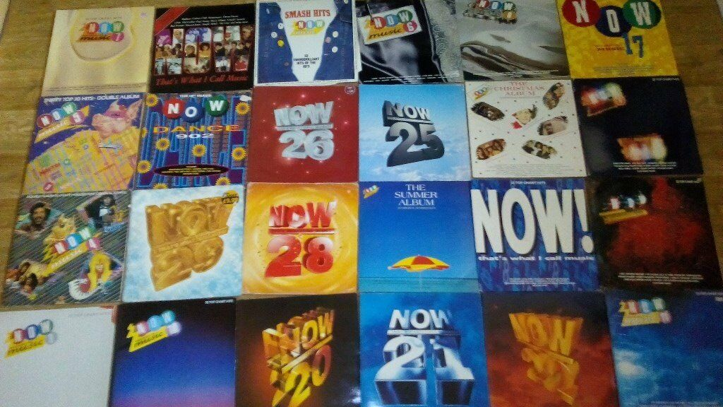25 x now thats what i call music vinyls rare 29/28/26/25/22/21/20