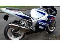 Suzuki Gsxr 750 k3 very clean may px bmw z4