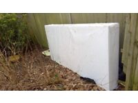 EXPANDED POLYSTYRENE SHEET 2400x1200x295mm NEW