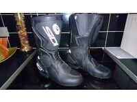 Sidi motorbike boots size 4