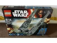 Lego Star Wars Kylo Ren Command Shuttle 75104 *New & Unopened* *RRP £100*