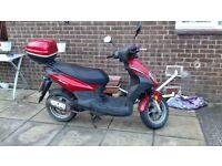 sym symply 50cc scooter