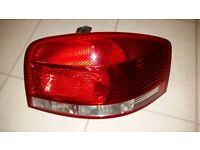 AUDI A3 DRIVERS SIDE REAR LAMP