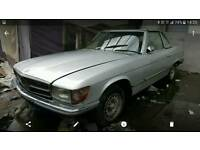 Mercedes 280sl left hand drive
