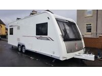 ELDDIS CRUSADER SUPERSTORM TWIN AXLE 6 BERTH JUBILEE SPECIAL EDITION,EXTRAS.