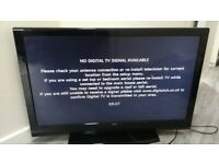 40 inch bush full hd 1080p led tv+freeview+remote+DELIVERY