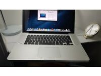 APPLE MACBOOK PRO 15 2012/13 INTEL CORE I7 2.3GHZ 8GB RAM 500GB HDD WIFI WEBCAM OS X