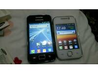 2x samsung galaxy both 35