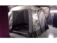 Kampa Travel Pod 310 - Universal fit awning designed to fit Campervans & Motorhomes up to 2.65m high