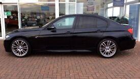 2014 BMW 3 SERIES M SPORT 320D AUTO XDRIVE 4X4 F30 FBMWSH SAT NAV LOW MILES HEATED LEATHER DAB RADIO