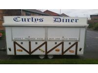 CATERING TRAILER AND LPG FORD TRANSIT VAN