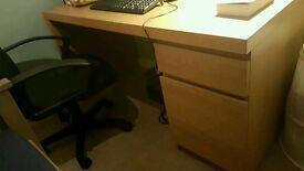 Desk + Swivel Chair £50