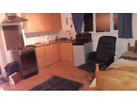 Self contained studio flat, would suit single professioal person.