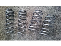 VW MK 4 Golf/Beetle diesel & petrol H&R lowering springs, 40mm drop, full set in great condition