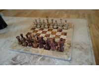 Stone/Marble Chess Set