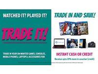 Unwanted Camera Trade It! for £ >Canon, Sony, SLR, Nikon, JVC, Panasonic, Lens, Mevo, Olympus