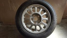 Mazda xedos 6 spare wheel and yokohama tyre