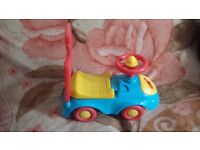 Baby child push along car