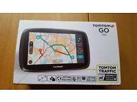 TomTom (Tom Tom) Go 510 Sat Nav - World Maps - Lifetime Traffic and Speed Cameras