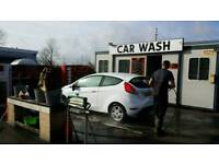 Carwash and valeting centre