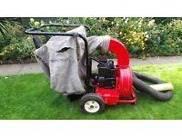 petrol garden vacuum leaf blower