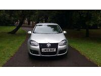 2008 Volkswagen golf gt sport tdi fsh leather £3895 *civic 308 focus megane a3 astra mazda3 size car