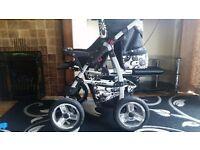 Travel Buggy Pram Pushchair Car Seat Stroller Newborn to 1 2 3 4 Years Boys Girls Unisex Push Chair