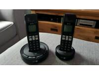 BT3510 twin cordless home phone with answering machine