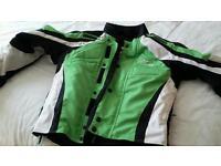 Kawasaki ladies motor bike Jacket