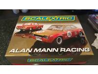 Limited addition Alan Mann Racing scalextric set