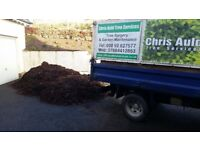 Composted woodchip mulch