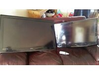 """2x TV's LCD believed to be 32"""" and 42"""""""