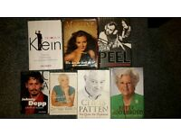 7 books autobiography and factual