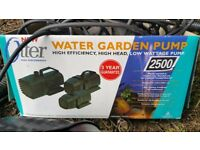 Pond pumps and filter