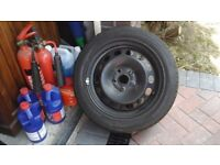 volkswagon wheel and tyre